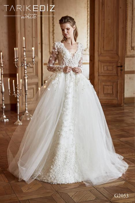 Novara (G2053) gown from the 2017 Tarik Ediz: White collection, as seen on Bride.Canada