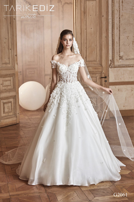 Prato (G2061) gown from the 2017 Tarik Ediz: White collection, as seen on Bride.Canada