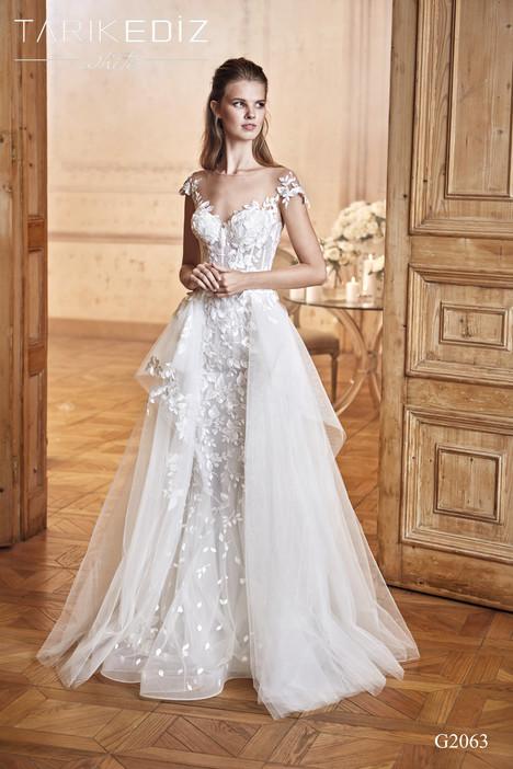 Preston (G2063) gown from the 2017 Tarik Ediz: White collection, as seen on Bride.Canada