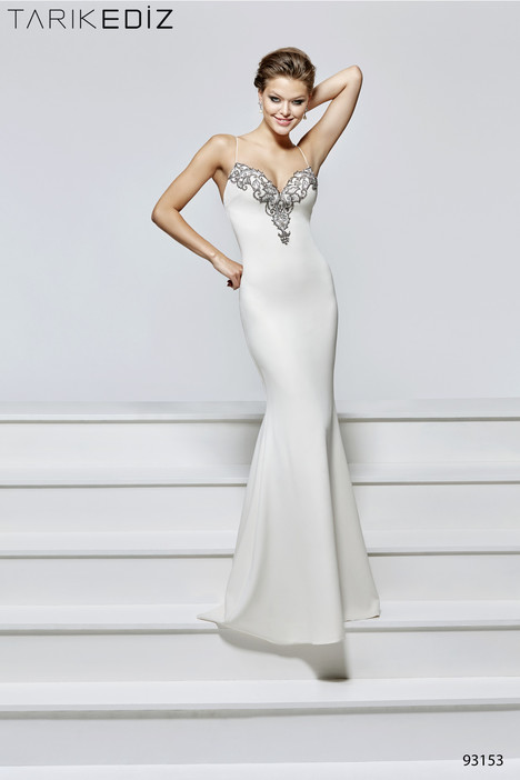 93153  gown from the 2017 Tarik Ediz: Evening Dress collection, as seen on Bride.Canada
