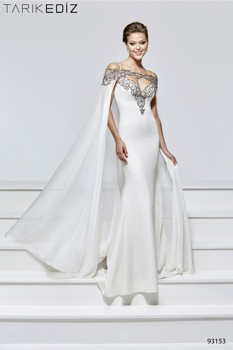 93153 (2) gown from the 2017 Tarik Ediz: Evening Dress collection, as seen on Bride.Canada