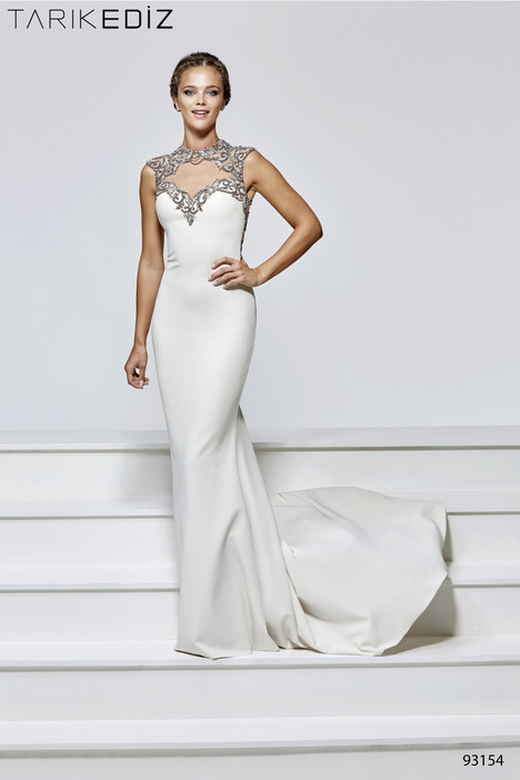 93154 gown from the 2017 Tarik Ediz: Evening Dress collection, as seen on Bride.Canada