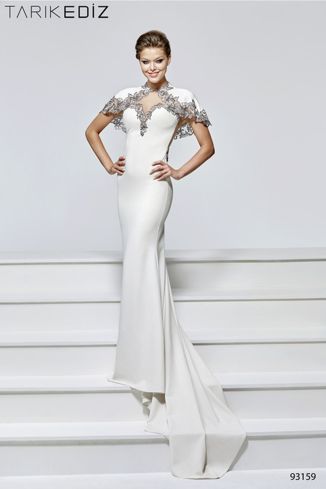 93159 (2) gown from the 2017 Tarik Ediz: Evening Dress collection, as seen on Bride.Canada