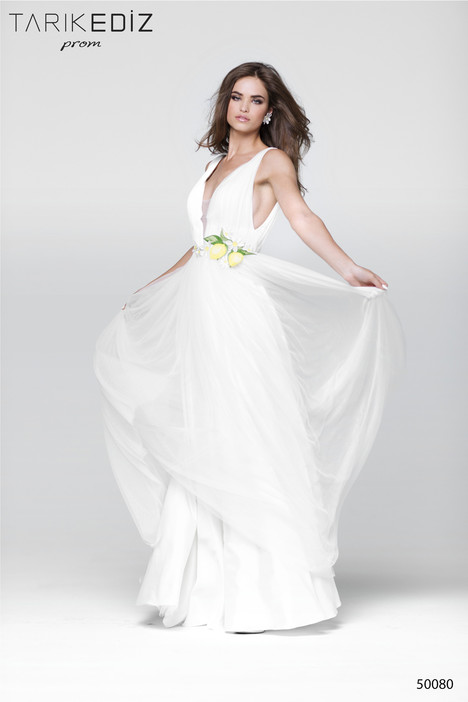50080 gown from the 2017 Tarik Ediz: Prom collection, as seen on Bride.Canada