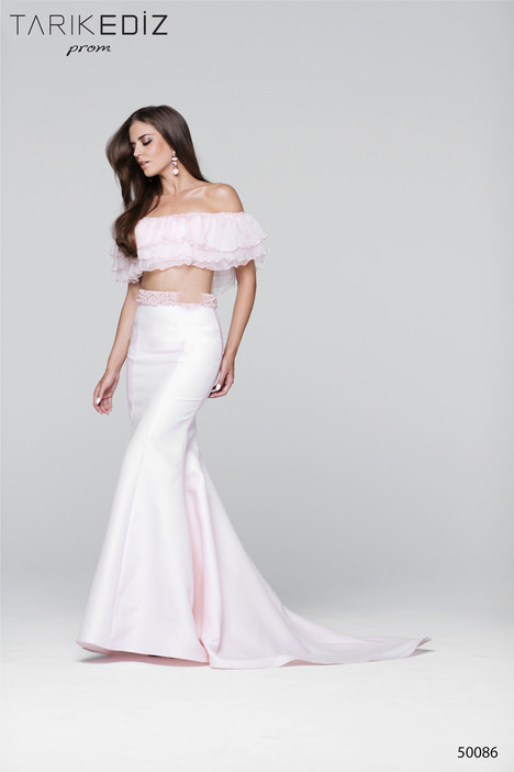 50086 gown from the 2017 Tarik Ediz: Prom collection, as seen on Bride.Canada