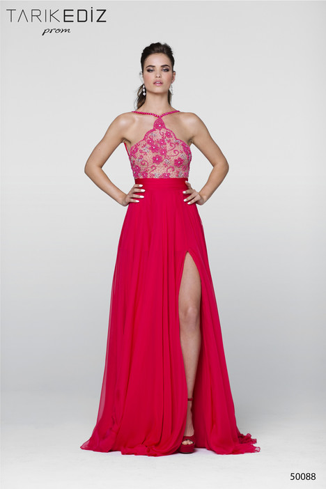 50088 gown from the 2017 Tarik Ediz: Prom collection, as seen on Bride.Canada