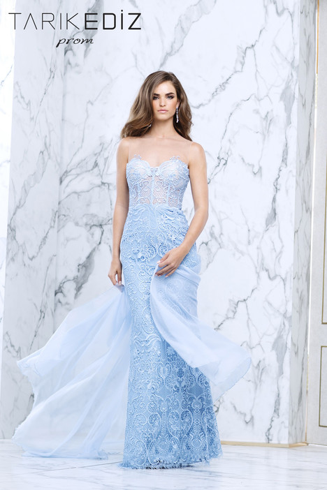 50103 gown from the 2017 Tarik Ediz: Prom collection, as seen on Bride.Canada