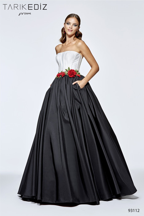 93112 gown from the 2017 Tarik Ediz: Prom collection, as seen on Bride.Canada