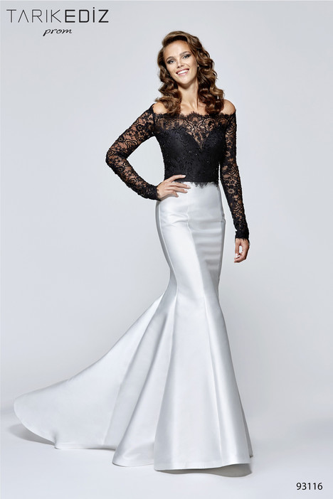 93116 gown from the 2017 Tarik Ediz: Prom collection, as seen on Bride.Canada