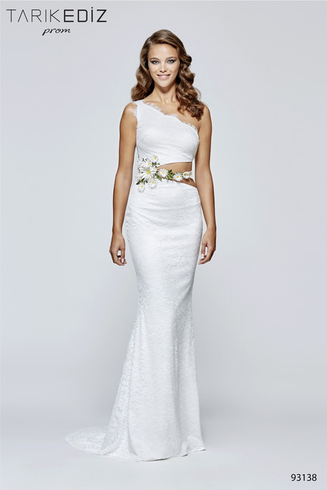 93138 gown from the 2017 Tarik Ediz: Prom collection, as seen on Bride.Canada