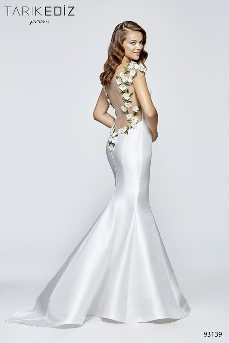 93139 (back) gown from the 2017 Tarik Ediz: Prom collection, as seen on Bride.Canada