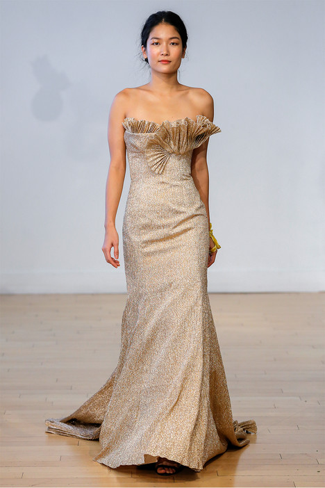 Narcisseae gown from the 2017 Carol Hannah collection, as seen on Bride.Canada