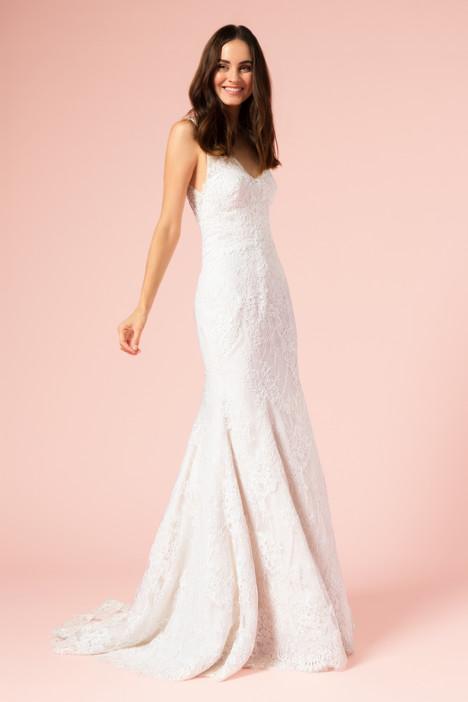 Bl17111 by monique lhuillier bliss wedding for Monique lhuillier wedding dress designers