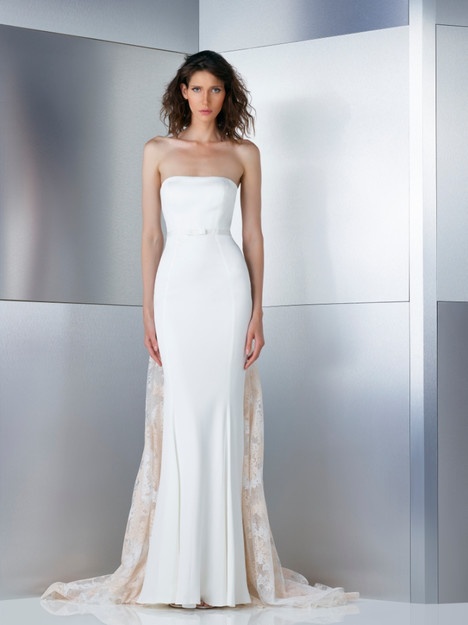 W17-4830 gown from the 2017 Gemy Maalouf collection, as seen on Bride.Canada