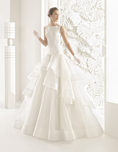 Nebraska (11145) gown from the 2017 Rosa Clara Couture collection, as seen on Bride.Canada