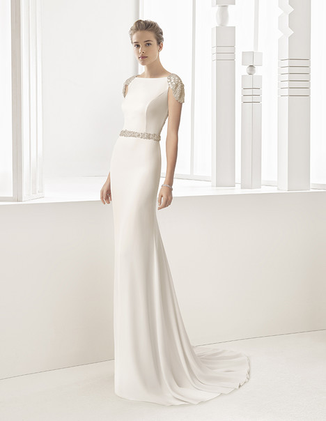 Saboya (81105) gown from the 2017 Rosa Clara Couture collection, as seen on Bride.Canada