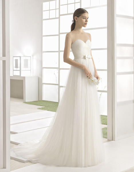 Wesley(1K134) gown from the 2017 Rosa Clara: Soft collection, as seen on Bride.Canada