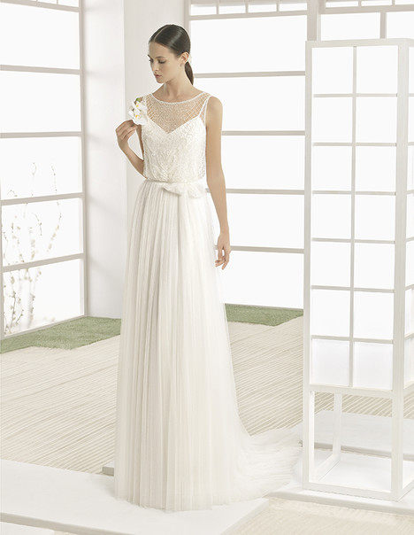 Western (1K135) gown from the 2017 Rosa Clara: Soft collection, as seen on Bride.Canada