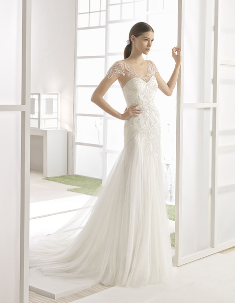 Wilma (1K143) gown from the 2017 Rosa Clara: Soft collection, as seen on Bride.Canada