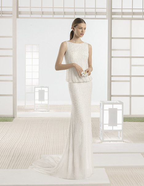 Wynet (1K152) gown from the 2017 Rosa Clara: Soft collection, as seen on Bride.Canada
