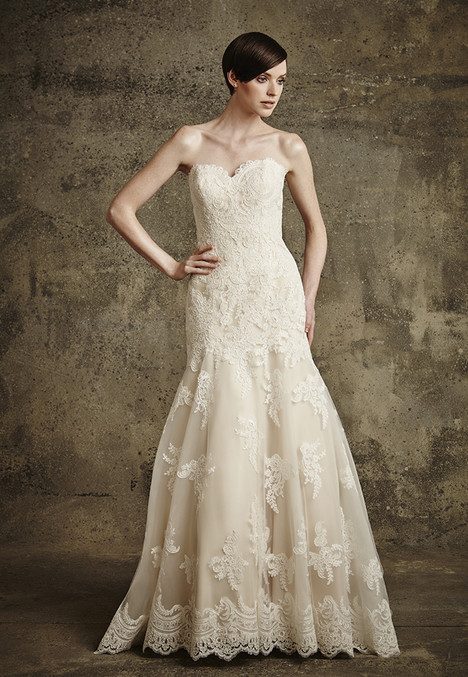 1561 gown from the 2016 Madison Collection collection, as seen on Bride.Canada