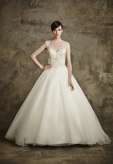 1563 gown from the 2016 Madison Collection collection, as seen on Bride.Canada
