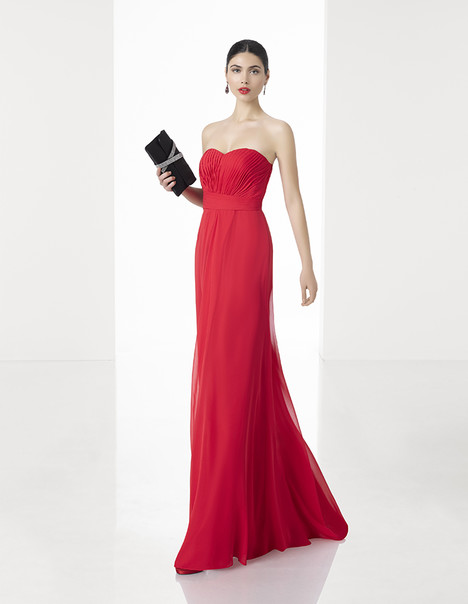 1T251 gown from the 2017 Rosa Clara: Cocktail collection, as seen on Bride.Canada