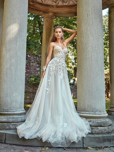 Gia gown from the 2017 Galia Lahav Bridal Couture collection, as seen on Bride.Canada