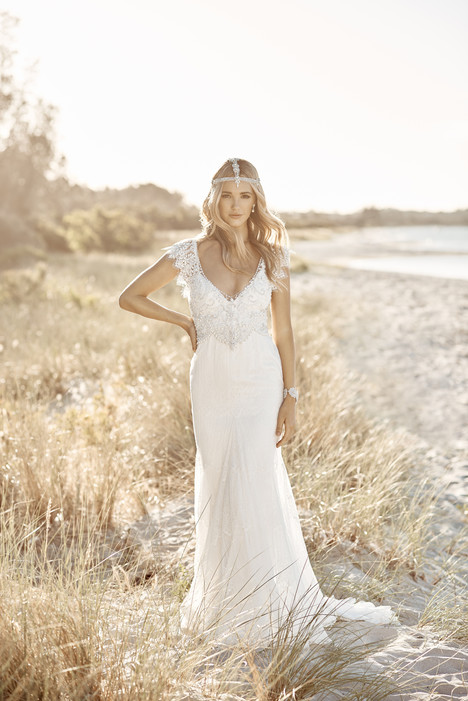Ruby gown from the 2017 Anna Campbell collection, as seen on Bride.Canada