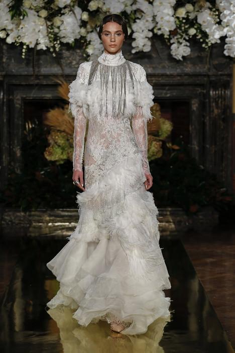 Manzanilla gown from the 2017 YolanCris collection, as seen on Bride.Canada