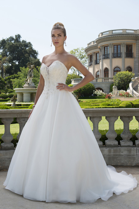 gown from the 2017 Venus Bridal collection, as seen on Bride.Canada