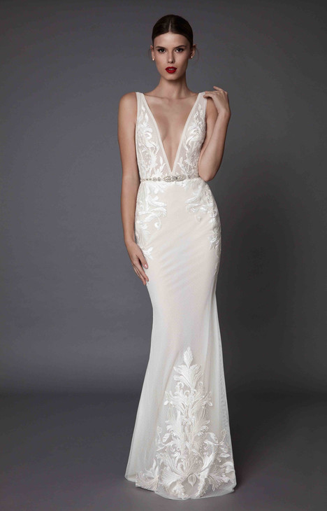 Amadis gown from the 2017 Muse by BERTA collection, as seen on Bride.Canada