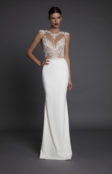 Aurora gown from the 2017 Muse by BERTA collection, as seen on Bride.Canada