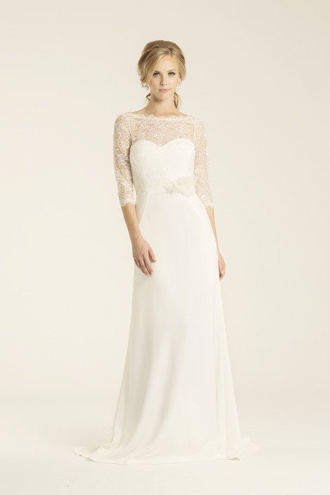 Turlington gown from the 2017 Amy Kuschel collection, as seen on Bride.Canada