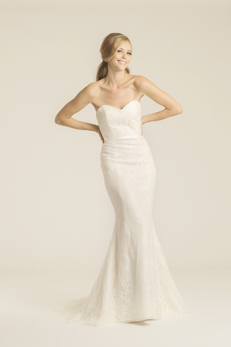 Claremont gown from the 2017 Amy Kuschel collection, as seen on Bride.Canada