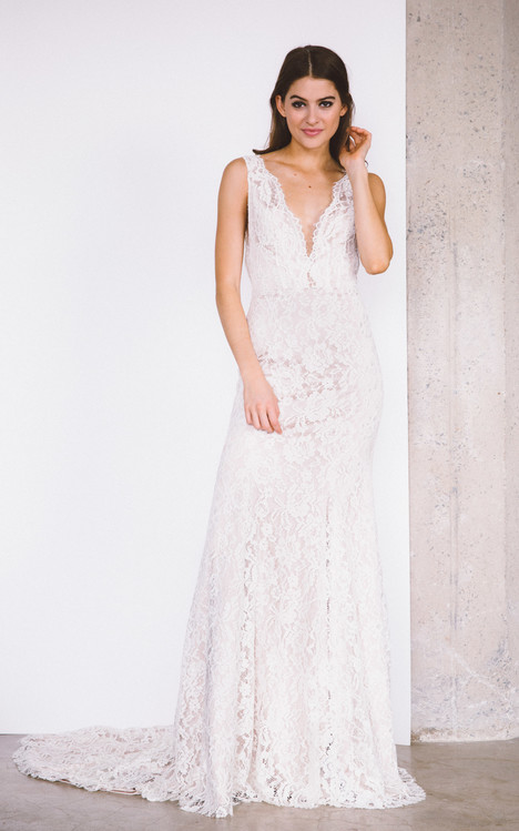 Laurel gown from the 2017 Laudae collection, as seen on Bride.Canada
