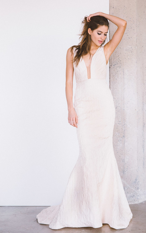 Templin gown from the 2017 Laudae collection, as seen on Bride.Canada