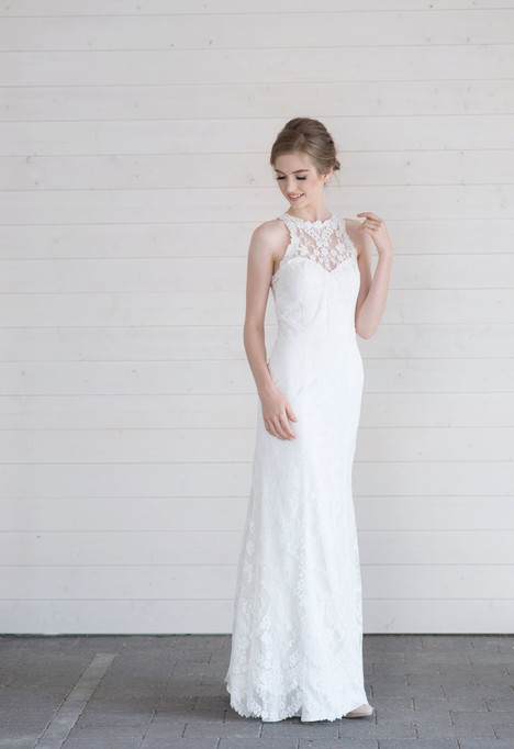 Alice gown from the 2017 Lillian Wild collection, as seen on Bride.Canada