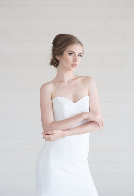 Honor (2) gown from the 2017 Lillian Wild collection, as seen on Bride.Canada