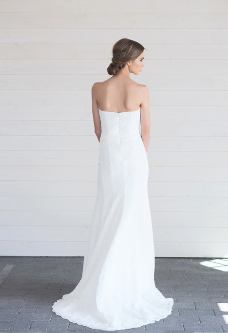 Honor (back) gown from the 2017 Lillian Wild collection, as seen on Bride.Canada