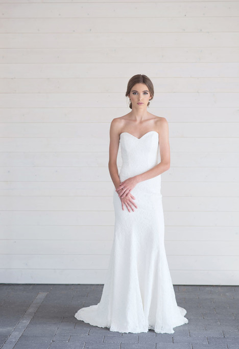 Lace Honor gown from the 2017 Lillian Wild collection, as seen on Bride.Canada