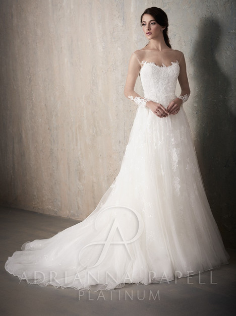 31020 gown from the 2017 Adrianna Papell collection, as seen on Bride.Canada