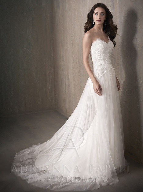 31021 gown from the 2017 Adrianna Papell collection, as seen on Bride.Canada