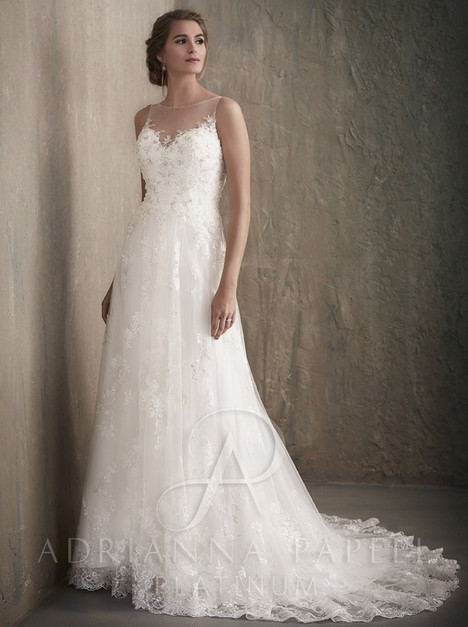31023 gown from the 2017 Adrianna Papell collection, as seen on Bride.Canada