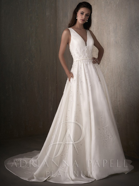 31024 gown from the 2017 Adrianna Papell collection, as seen on Bride.Canada