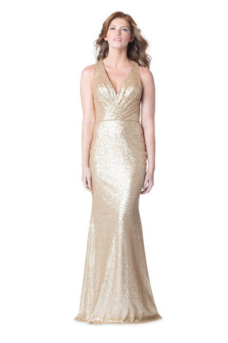 1601 gown from the 2016 Bari Jay Bridesmaids collection, as seen on Bride.Canada