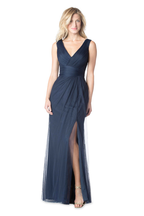1610 gown from the 2016 Bari Jay Bridesmaids collection, as seen on Bride.Canada