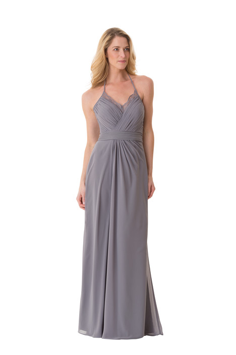 1658 gown from the 2016 Bari Jay Bridesmaids collection, as seen on Bride.Canada