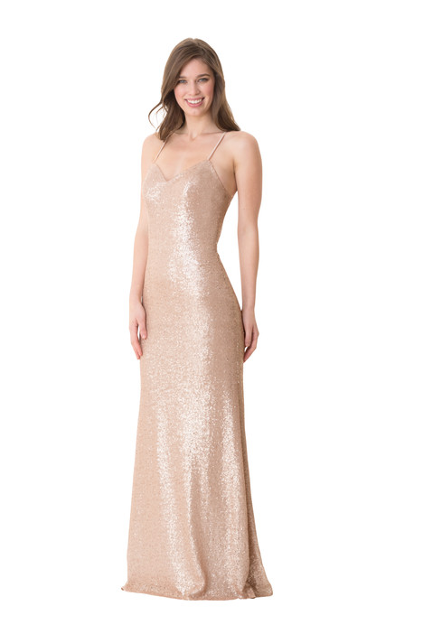 1666 gown from the 2016 Bari Jay Bridesmaids collection, as seen on Bride.Canada