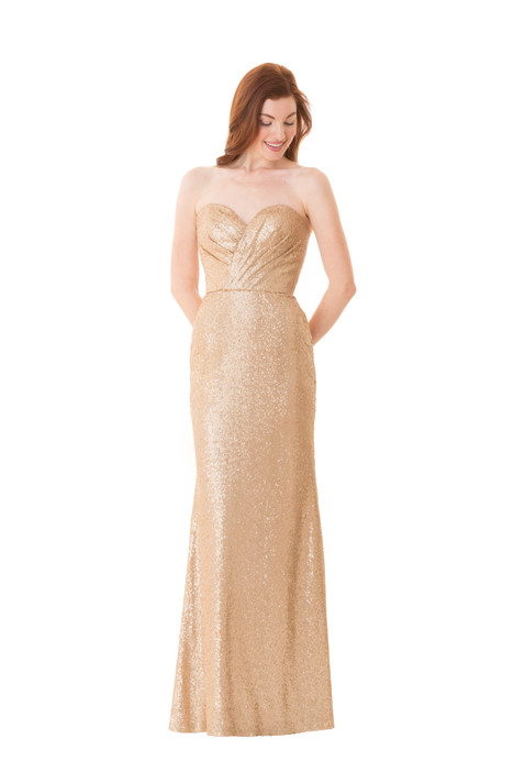 1674 gown from the 2016 Bari Jay Bridesmaids collection, as seen on Bride.Canada